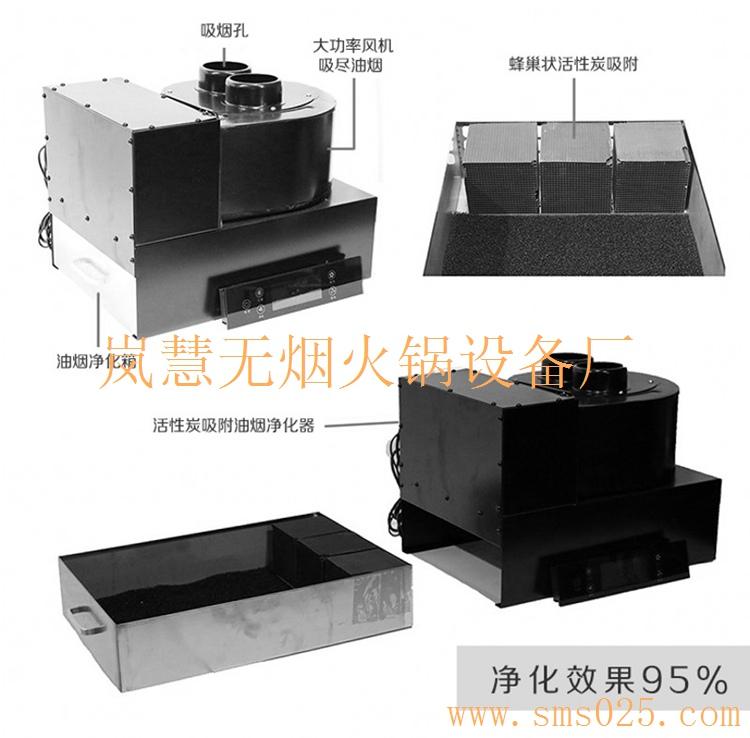 无烟火锅桌椅的订制方案与流程剖析(www.sms025.com)