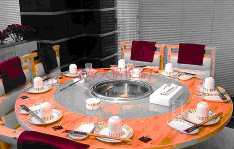 火锅桌无烟净化设备