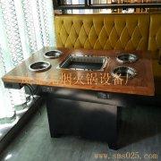 电磁炉火锅桌 图片