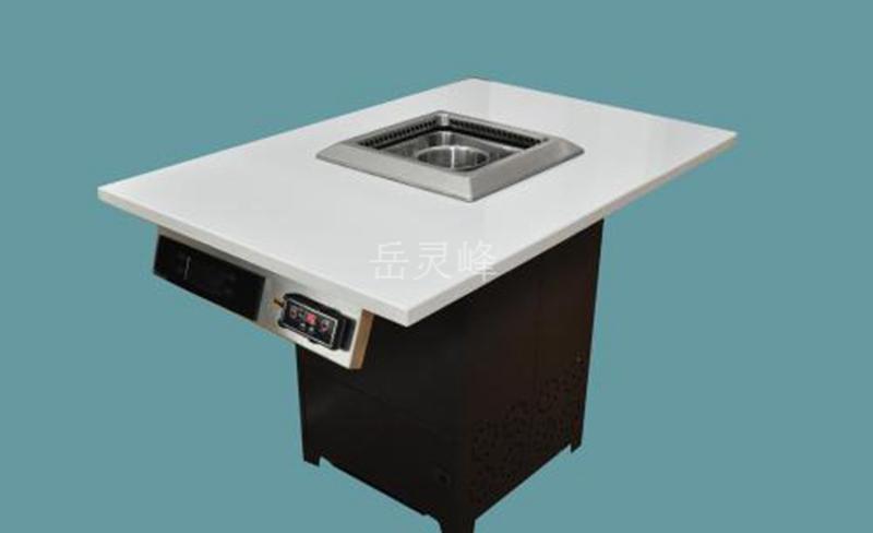 自助餐烤涮一体桌桌形、桌面材质如何选择