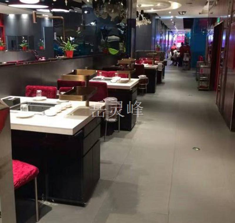 智能无烟火锅桌品牌与传统火锅桌的区别在哪