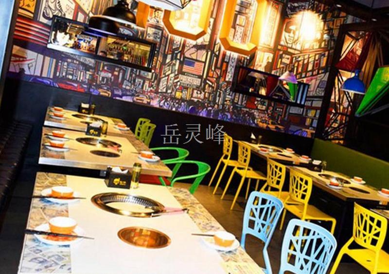 火锅店无烟火锅桌椅 无烟火锅桌子厂应该如何生存?