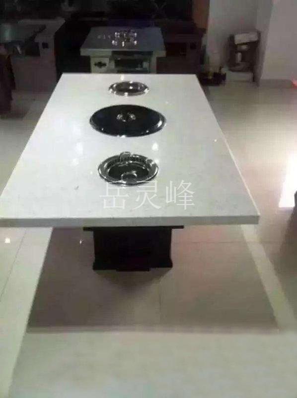 岳灵峰制品,西餐厅桌椅,西餐厅大型无烟火锅设备