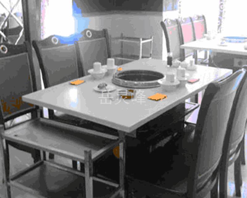 【黑龙江省哈尔滨市巴彦县食堂不锈钢餐火锅火锅桌】欢