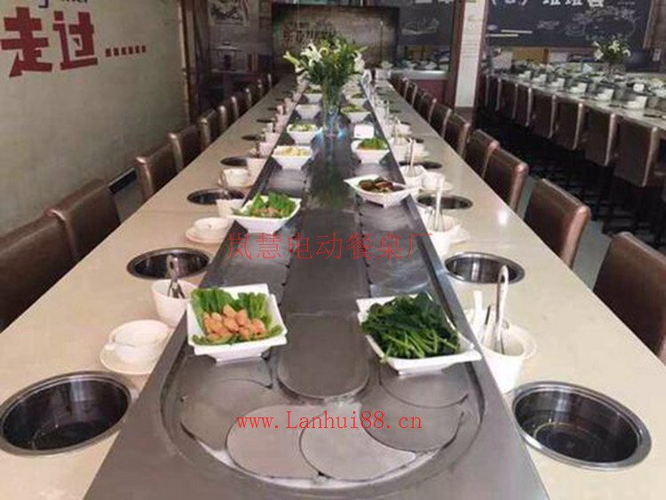 火锅旋转设备的主要组成部分及其特点(www.sms025.com)