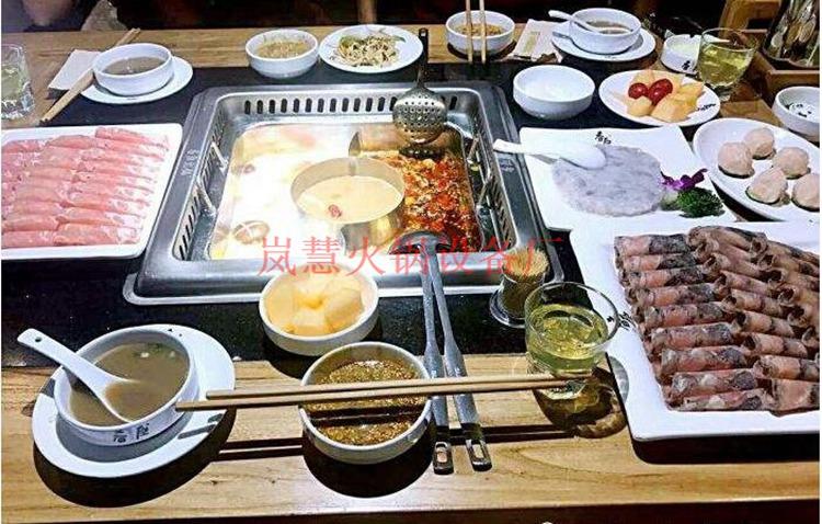 直销无烟火锅餐桌包安装(www.lanhui88.net)