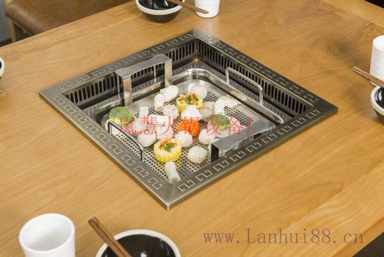 工厂直销无烟火锅桌有哪几种类型?(www.sms025.com)