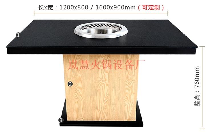 无烟火锅桌的尺寸如何才合理?(www.sms025.com)