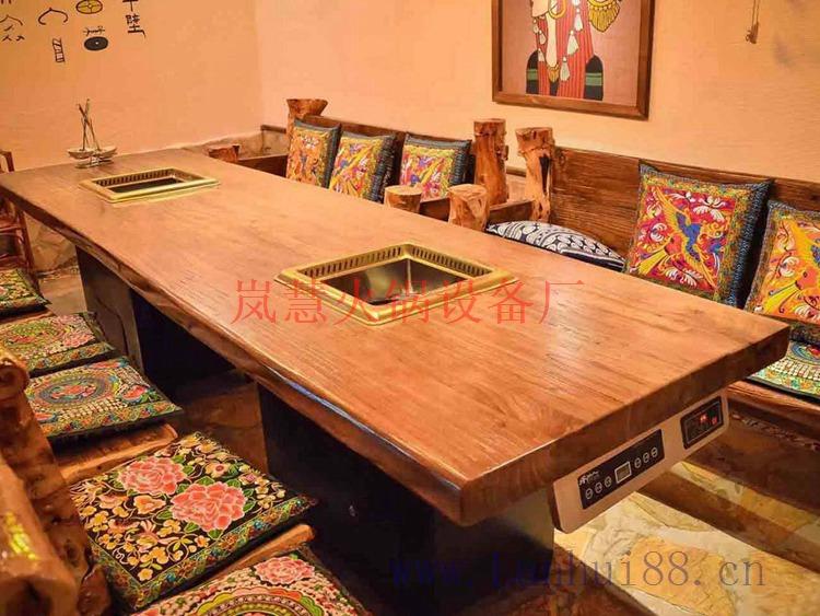 厂家出产无烟火锅餐桌(www.sms025.com)