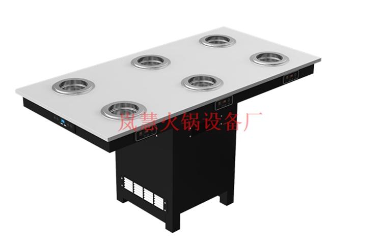 广东销售无烟火锅餐桌(www.sms025.com)