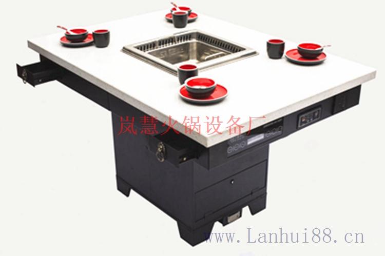 厂家直销地排风无烟火锅设备(www.sms025.com)