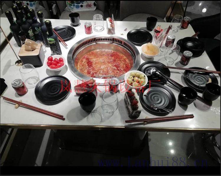 影响无烟火锅餐桌报价的因素有哪些?(www.sms025.com)