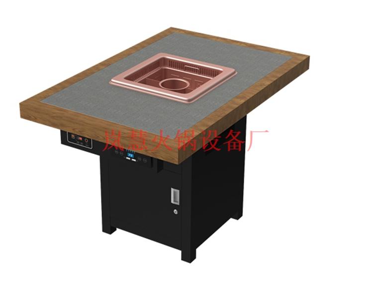 无烟火锅餐桌有那些优点?(www.sms025.com)