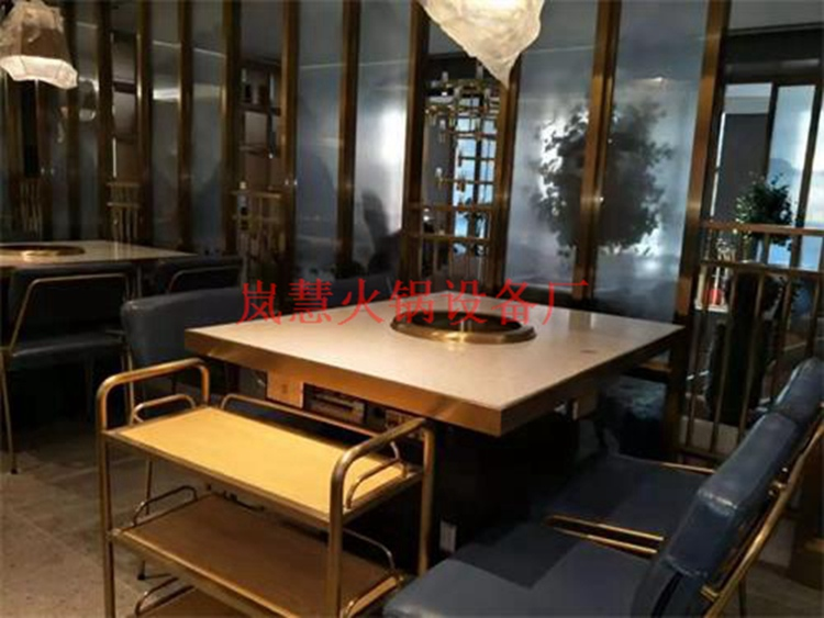 无烟火锅餐桌安装注意事项(www.sms025.com)