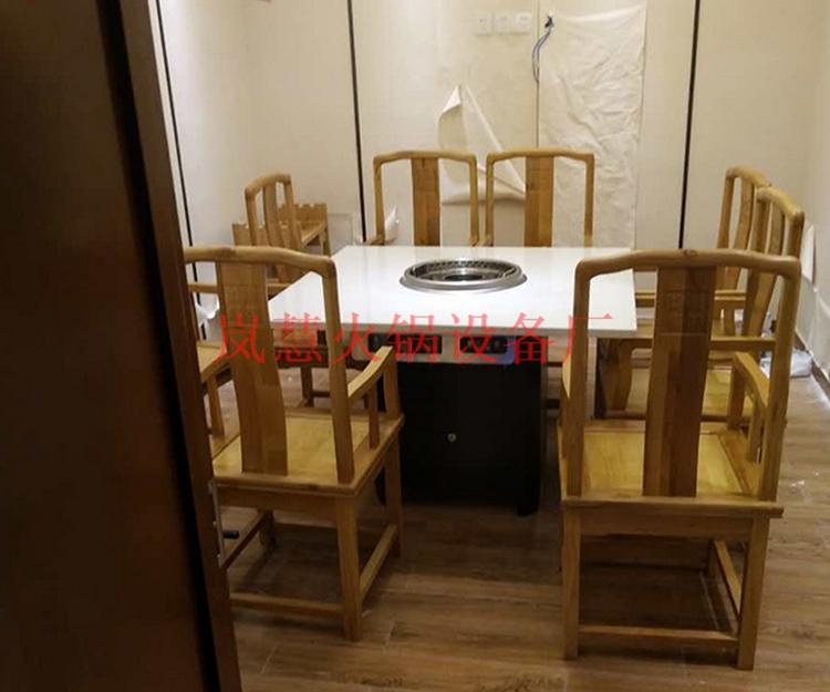 打听下无烟火锅桌椅尺寸有几种