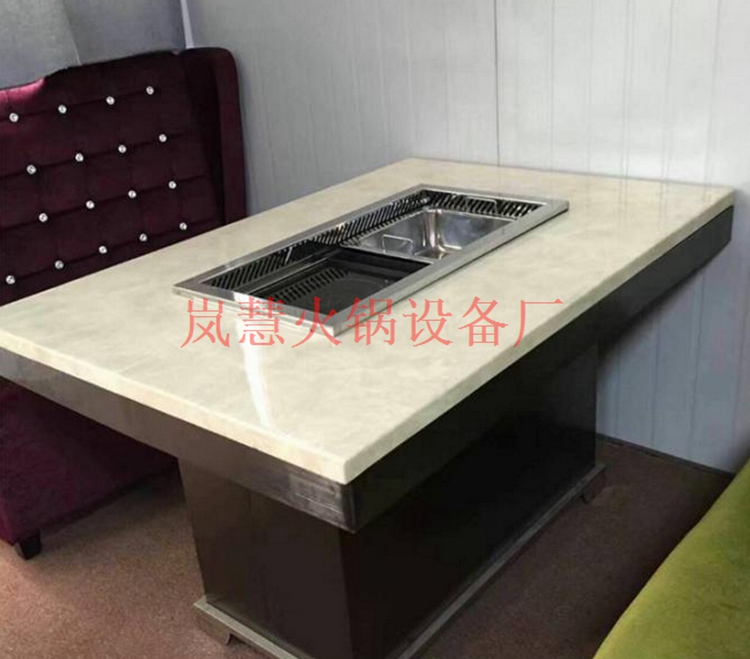 岚慧订制无烟火锅桌生产流程(www.sms025.com)
