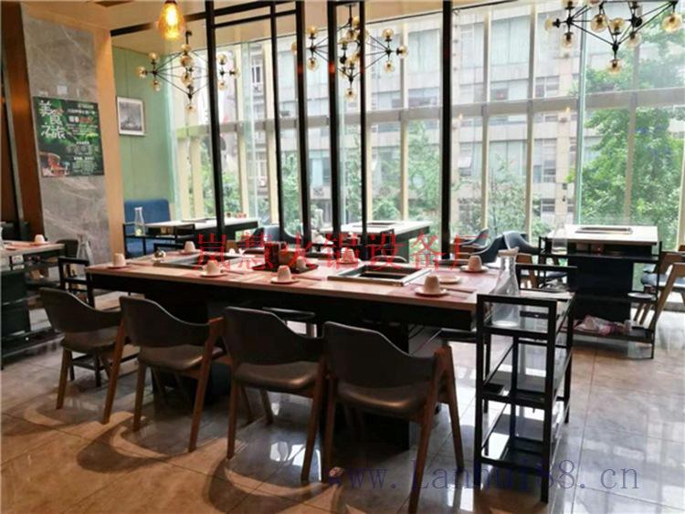 无烟火锅桌餐椅(www.sms025.com)
